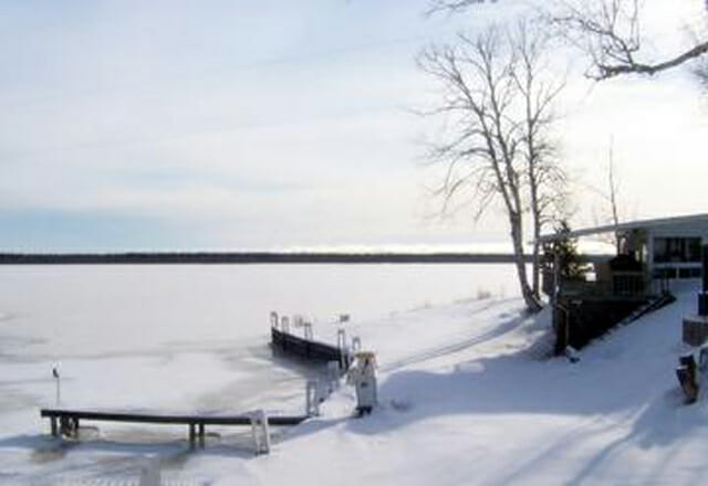 Lac-St-Jean im Winter