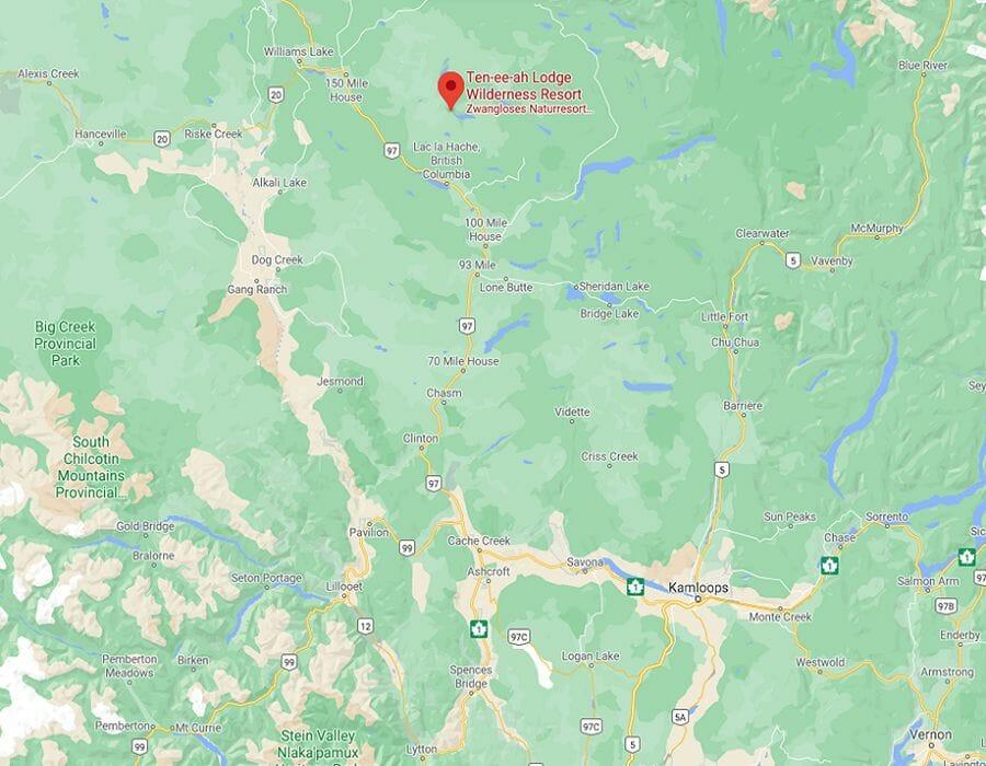 Ten-ee-ah Lodge BC Kanada