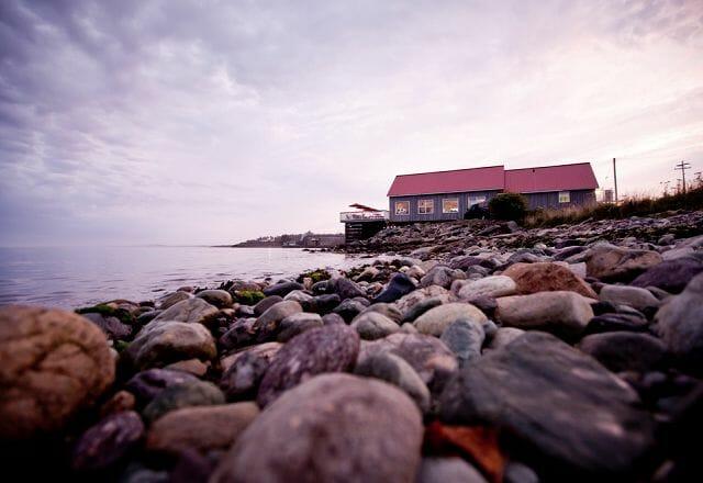 Felsen Kanada Maritimes