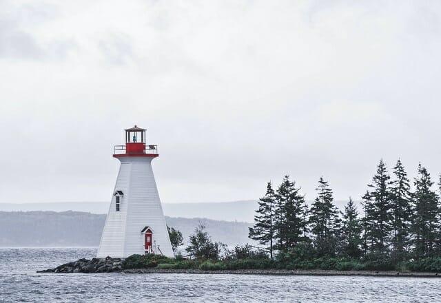 Natur Leuchtturm Kanada